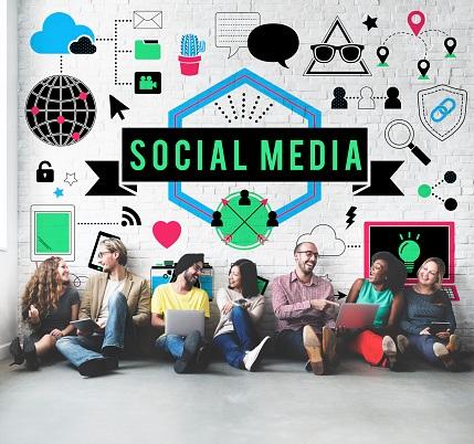 friends on social media platforms